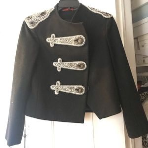 Marching band inspired jacket